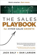 The Sales Playbook Book PDF