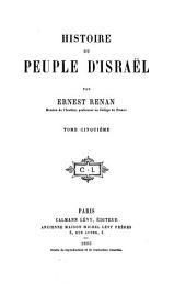 Histoire du peuple d'Israël: Volume1