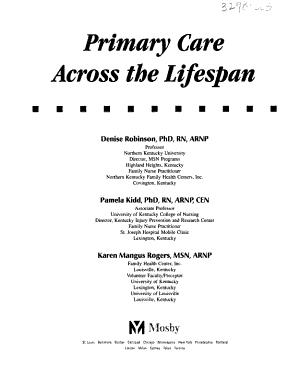 Primary Care Across the Lifespan PDF