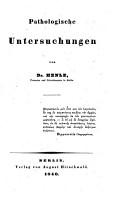 Pathologische Untersuchungen PDF