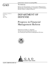 Department of Defense progress in financial management reform