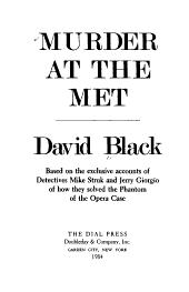 Murder at the Met PDF