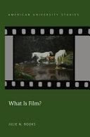 What Is Film  PDF