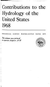Geological Survey Water-supply Paper: Issue 1879