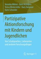 Partizipative Aktionsforschung mit Kindern und Jugendlichen PDF