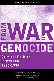 From War to Genocide Book