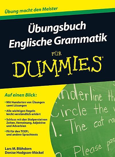 Ubungsbuch Englische Grammatik Fur Dummies PDF