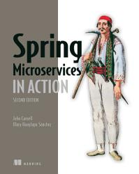 Spring Microservices In Action Second Edition Book PDF