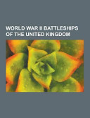 World War Ii Battleships of the United Kingdom