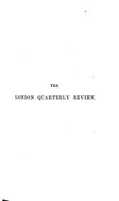 The London Quarterly Review: Volume 65