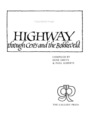 The Forgotten Highway Through Ceres and the Bokkeveld PDF