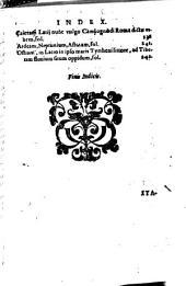 Deliciae Italiae et index viatoribus ab urbe Roma ad omnes in Italia, aliquas etiam extra Italiam ciuitates & oppida ...