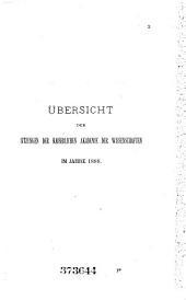 Almanach der Kaiserlichen Akademie der Wissenschaften für das Jahr: Band 38