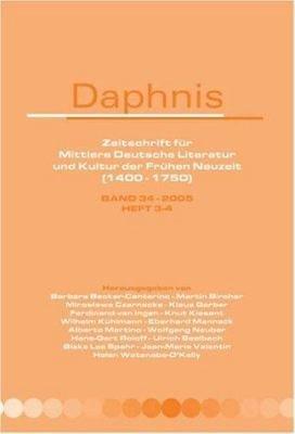 Daphnis Band 34 2005   Heft 3 4 PDF