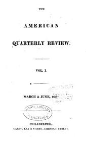 The American Quarterly Review: Issues 1-2