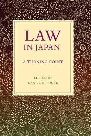 Law in Japan PDF