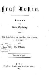 Graf Kostia: Roman, Band 1