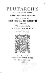 Plutarch's Lives of the Noble Grecians and Romans: Volume 4