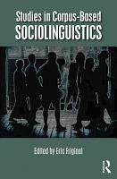Studies in Corpus Based Sociolinguistics PDF