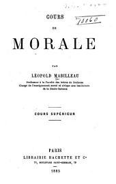 Cours de morale ... cours supérieur