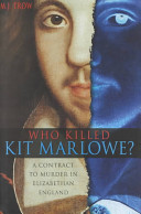 Download Who Killed Kit Marlowe  Book