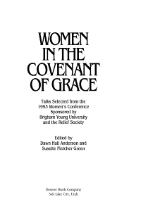 Women in the Covenant of Grace PDF