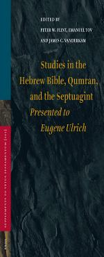 Studies in the Hebrew Bible  Qumran  and the Septuagint PDF
