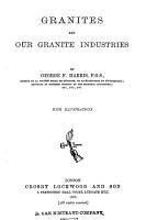 Granites and Our Granite Industries PDF