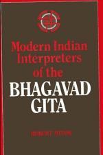 Modern Indian Interpreters of the Bhagavad Gita