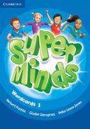 Super Minds Level 1 Wordcards
