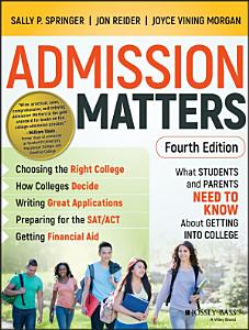 Admission Matters Book