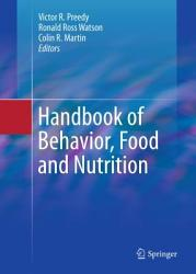Handbook Of Behavior Food And Nutrition Book PDF