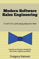 Modern Software Sales Engineering
