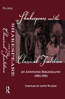 Shakespeare and the Classical Tradition PDF