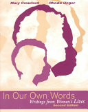 Download In Our Own Words Book