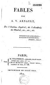 Fables par A. V. Arnault,...