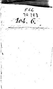 Casparis Ens Epidorpidum libri IV: in quibus multa sapienter, grauiter, argute, salse, iocose, atque etiam ridicule dicta [et] facta continentur ..., Volumes 1-3