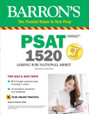 Barron s PSAT NMSQT 1520 with Online Test Book
