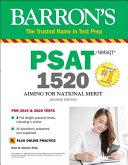 Barron s PSAT NMSQT 1520 with Online Test