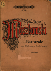 Barcarolle de l'opéra Les Contes d'Hoffmann