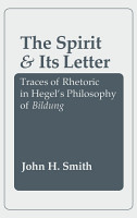 The Spirit and Its Letter PDF