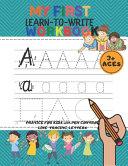 My First Learn to Wr  te Workbook PDF