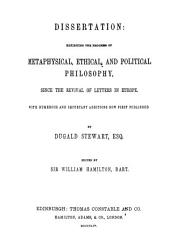 The Collected Works of Dugald Stewart: Volume 1