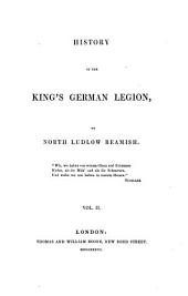 History of the King's German legion: Volume 2