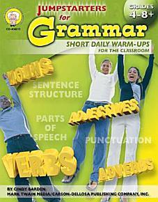 Jumpstarters for Grammar  Grades 4   12 PDF