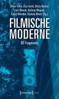 Filmische Moderne PDF