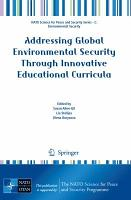 Addressing Global Environmental Security Through Innovative Educational Curricula PDF