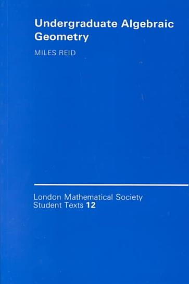 Undergraduate Algebraic Geometry PDF