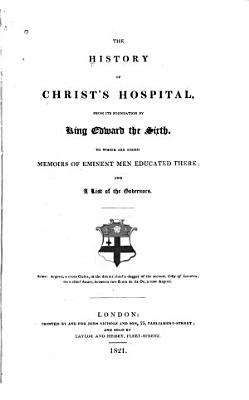 The History of Christ s Hospital