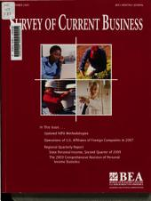 Survey of Current Business: Volume 89, Issue 11